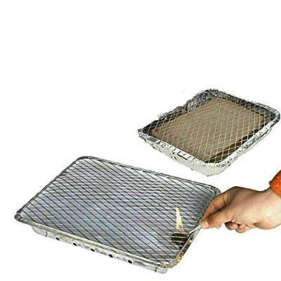 Generic 2 x Sofort-Einweggrills. Ideal für kleine Partys oder zum schnellen Grillen.