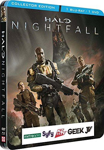 Nightfall Collectors (Halo The nightfall [Steelbook Combo collector Blu-ray + Dvd] [Combo Blu-ray + DVD - Édition Collector boîtier SteelBook])