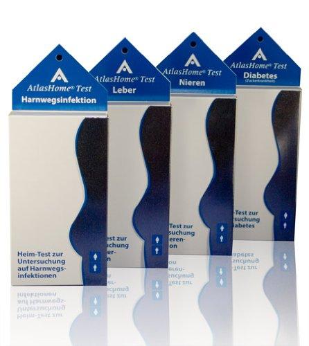 AtlasHome Test Kombipaket - Gesundheitspaket - Vorsorgepaket