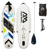 AQUA MARINA, PERSPECTIVE+ALU-Paddle, Paddle Board, SUP, 330x75x15 cm