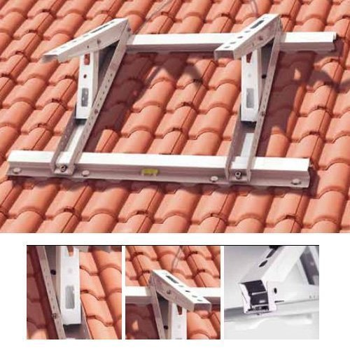 Dachkonsole Klimaanlage universal Halterung Konsole für Split Klimageräte, Inverter Wärmepumpen - Hergestellt in Italien