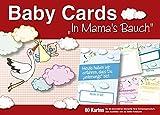 """Baby Cards """"In Mama's Bauch"""": Selfie Meilenstein-Erinnerungskarten für Ihre Schwangerschaft"""