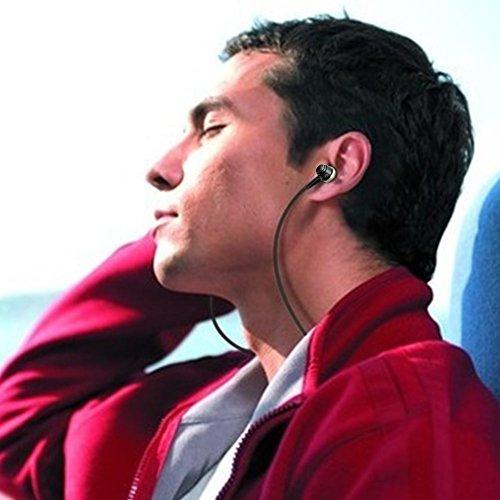 Gestop In-Ear Kopfhörer in Stereo für iOS, Ohrhörer mit Mikrofon für iPhone, iPad, iPod und Android (Samsung Galaxy, Huawei, Xiaomi, Motorola..) | High End Earphone | Bass | Anti-Verheddert | Sport Kopfhörer (Golden) - Bild 3