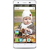 Cubot X16S 5.0 Pouces 1280*720 IPS HD 4G Smartphone MT6735A Quad-Core 1.3GHz 3GB RAM + 16GB ROM Dual SIM Double Veille 13.0MP Caméra Wifi / OTG / Hotknot / Smart Gesture Téléphone Portable Blanc