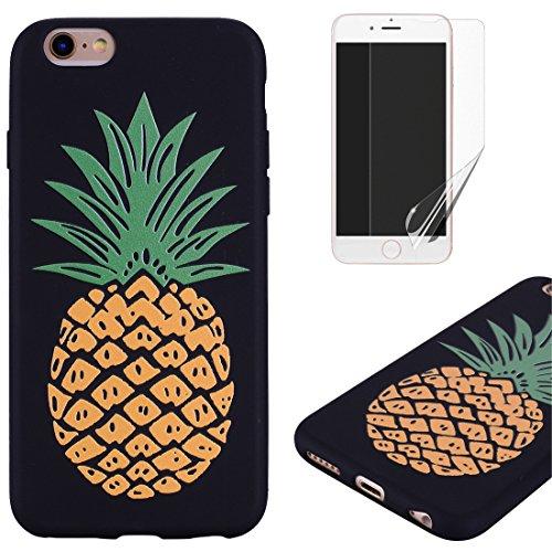 OYIME Cover per iPhone 6 Plus/6S Plus Silicone Morbida [Cane con Frasi Divertenti] Disegni in Rilievo Vivace Colorato…