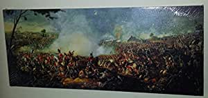 The Battle of Waterloo by William Sadler Wellington Napoleon Stretched & Mounted Canvas Art Print Brand New by Creative Canvas