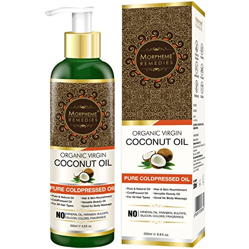 Morpheme Pure Organic Virgin Coconut Oil, 200ml