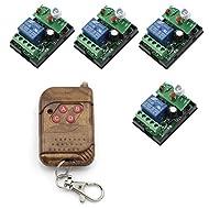 PIXNOR DC 6V 10A 1CH RF relè Wireless trasmettitore interruttori della luce telecomando 433MHZ