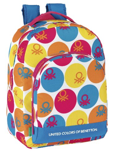 Benetton - Day Pack adaptable, 32 x 43 x 17 cm (Safta 611360305)