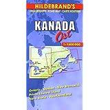 Carte routière : Canada, East-(Anglais)