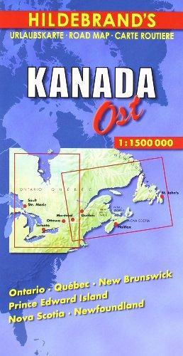 Carte routière : Canada, East-(Anglais) par Carte Hildebrand