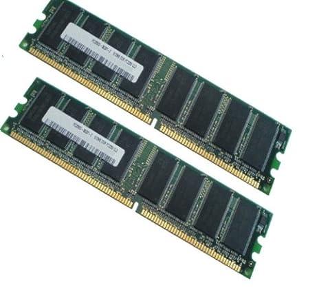 Kit 2Go (2 x 1Go de mémoire rAM dDR1 1Go pC3200 400 mHz (1024MB 2048MB pC400 pC 3200 184 broches