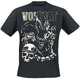 Volbeat Black Collage T-Shirt Schwarz