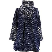 Manteau laine bouillie femme pas cher