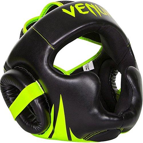 Venum VENUM-2052-Neo yellow/Black Challenger 2.0 Caschetto MMA, Giallo Neon, Taglia Unica