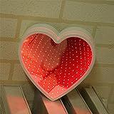 Dekoratives Licht Time Tunnel Spiegel, Modeling Licht mamum Festzelt LED-Nachtlicht Schlafzimmer Tunnel Modeling Home Decor Akku Wandleuchte Einheitsgröße B