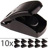 proheim Mause-Falle Snap 10x Schlag-Falle für Mäuse Schlag-Mausfalle mit integriertem Köder effiziente und hygienische Mäuse-Falle