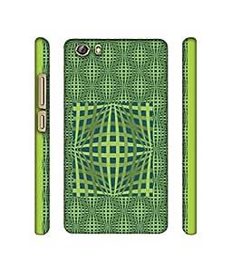 NattyCase Pattern Art Design 3D Printed Hard Back Case Cover for Gionee Marathon M5 lite