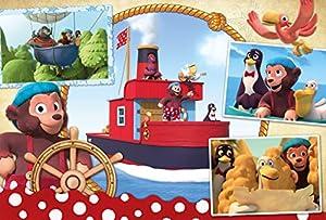 Schmidt Spiele Puzzle 56233petzi, Amigos en Alta mar, 60Piezas Niño Rompecabezas