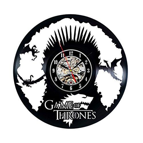 Juego de Tronos Registro regalo reloj único Vinilo