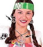 Guirca Conjunto Hippie de Collar y Pendientes