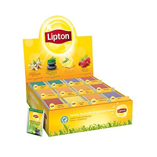 Lipton Coffret Thés Et Infusions 12 Parfums 180 Sachets Fraicheu