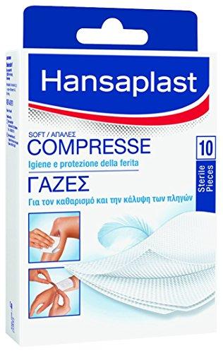 Hansaplast Compresse di Garza Soft 5X8,5Cm 10Pz