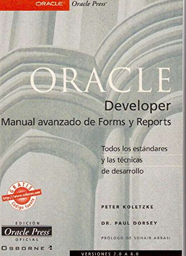 Oracle Developer - Manual Avanzado de Forms