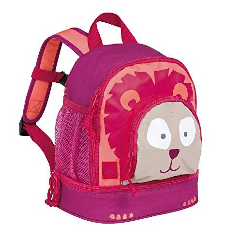 Lässig Mini Backpack Kinderrucksack Kindergartentasche, Brotdosenfach unten, Löwe