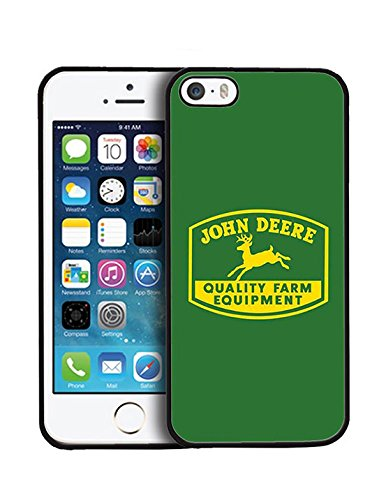 Iphone 5 5S SE Hülle Case John Deere , TPU Gel Hülle Case für Iphone 5 5S SE John Deere Brand Logo Gift für Boys, Drop Protection John Deere Logo Hülle Case Schale Cover
