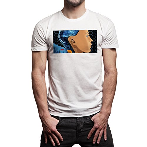 Ex_Machina_FF_Poster2social Background Herren T-Shirt Weiß