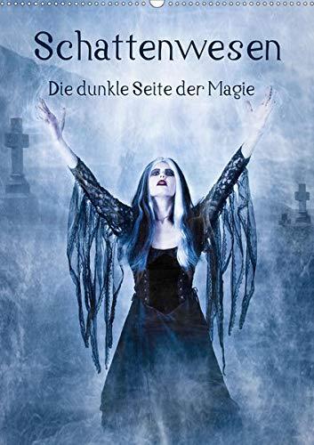 Schattenwesen - Die dunkle Seite der Magie (Wandkalender 2020 DIN A2 hoch): Auf den Spuren der Schattenwesen - eine magische Bilderreise durchs Jahr (Monatskalender, 14 Seiten ) (CALVENDO Kunst)