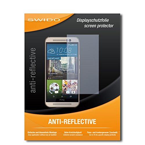 SWIDO Bildschirmschutz für HTC One M9s [4 Stück] Anti-Reflex MATT Entspiegelnd, Hoher Härtegrad, Schutz vor Kratzer/Glasfolie, Schutzfolie, Bildschirmschutzfolie, Panzerglas Folie