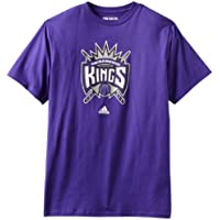 adidas NBA Sacramento Kings logo del equipo camiseta, hombre, Sacramento Kings, small