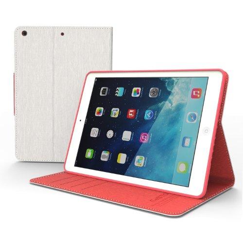 iPad Air Case, iPad 5Air Wallet Case Cover [schmalem] [PU/Kunstleder] [Dämpfung] mit Ständer Funktion und Klappe mit magnetischem Verschluss; funktionelle Fashion Slim iPad Air Schutzhülle für Apple iPad Air iPad 5(Fünfte Generation)