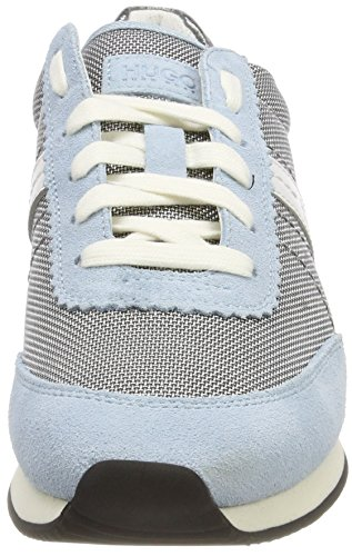 HUGO Damen Adrienne-f Sneaker Mehrfarbig (Light/Pastel Blue)