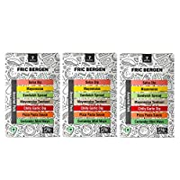 Fric Bergen Assorted Packs (Pack of 3)