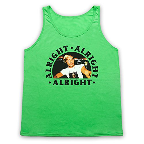 Dazed And Confused Alright Alright Alright Tank-Top Weste Neon Grun