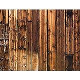 Fototapete Holzoptik Braun Vlies Wand Tapete Wohnzimmer Schlafzimmer Büro Flur Dekoration Wandbilder XXL Moderne Wanddeko - 100% MADE IN GERMANY - Runa Tapeten 9119010a