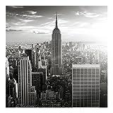Vliestapete–Manhattan skyline–Wandbild quadratisch