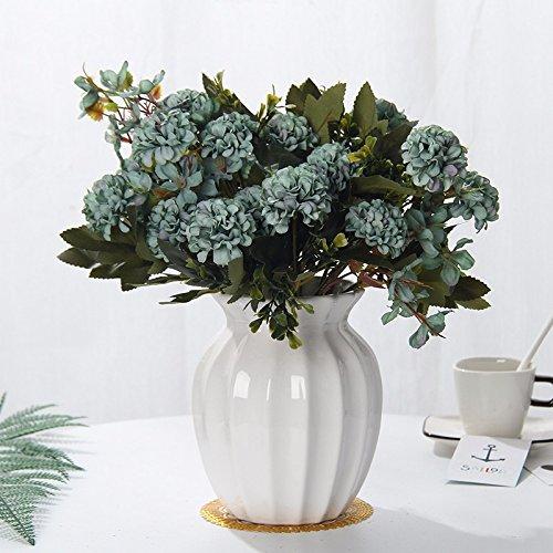 Emulation Blume Suite Wohnzimmer mit künstlichen Blumen geschmückt Sway im Kunststoff getrocknete Blume Esstisch ausgestattet mit Töpfen Blume, h