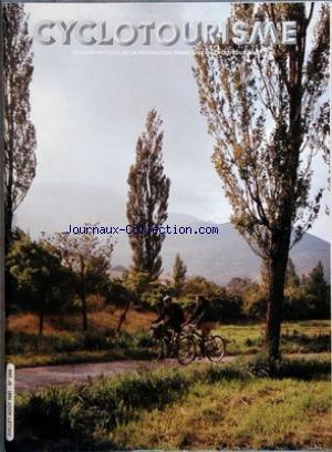 CYCLOTOURISME [No 288] du 01/07/1981 - organe officiel de la federation francaise de cyclotourisme