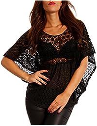 fbd3d2642c98 Suchergebnis auf Amazon.de für  Shirt mit Lochmuster - Damen  Bekleidung