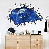 LIGEsayTOY 3D Star Series Boden Wandaufkleber Abnehmbare Wandtattoo Vinyl Art Room Decor Vintage Kreise Princess blüten Graffiti unendlichkeit Marvel Schablone lebensbaum