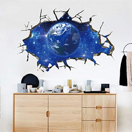 LIGEsayTOY 3D Star Series Boden Wandaufkleber Abnehmbare Wandtattoo Vinyl Art Room Decor Vintage Kreise Princess blüten Graffiti unendlichkeit Marvel Schablone lebensbaum (Princess-wimpern)