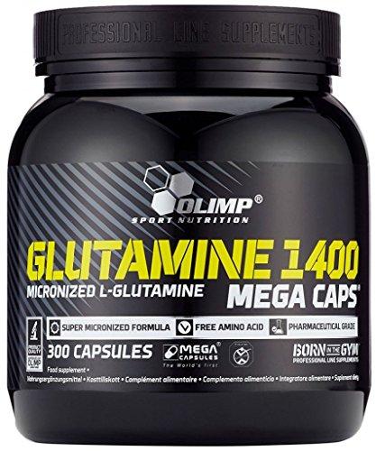 Olimp L-Glutamine Mega Caps, 300 Kapseln (3er Pack)