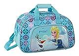 Ragusa-Trade Disney Frozen - Die Eiskönigin Elsa und Anna, Sporttasche Reisetasche (815), blau, 40 x 24 x 23 cm