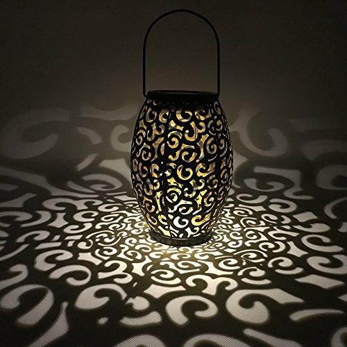 Lampe Solaire LED Extérieure Lumière à Changement de Couleurs Solaire LED pour Jardin Lampe de Jardin Lampe de Table