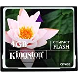 Kingston CF/4GB Carte CompactFlash Standard 8 Go