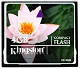 Kingston 4 GB Compact Flash Memory Card